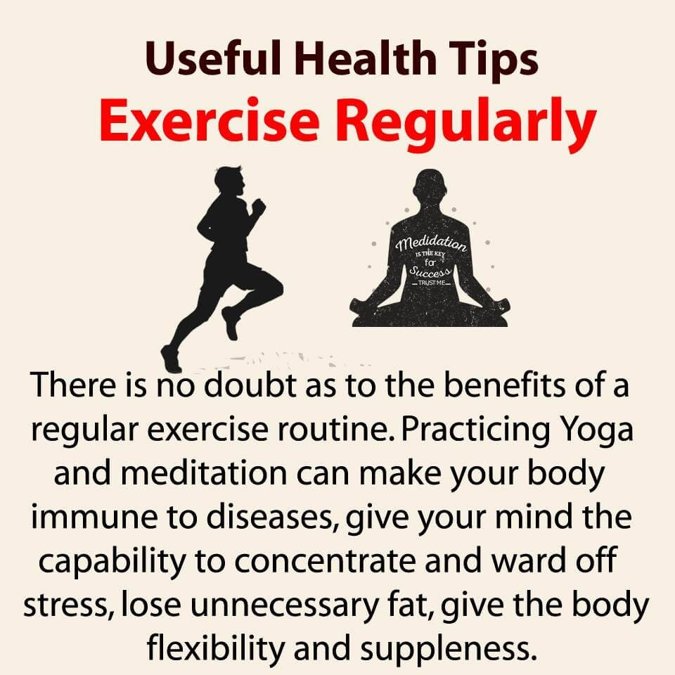 Daily Health Tips Physical Mental And Spiritual Practice