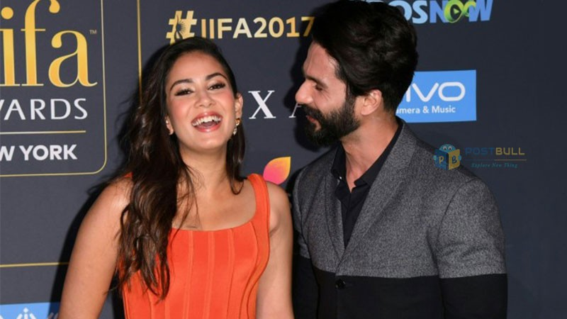 IIFA 2017: Shahid and Meera proved a Successful Arranged Marriage Goals in an Event