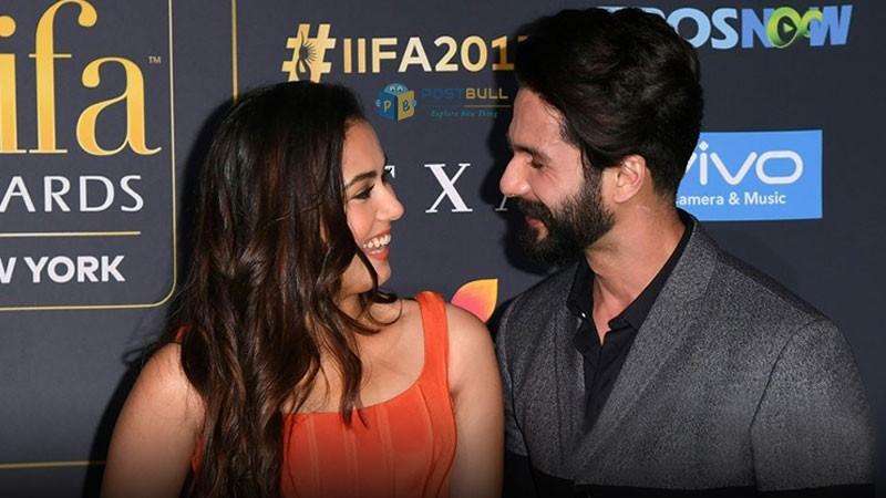 IIFA 2017: Shahid and Meera