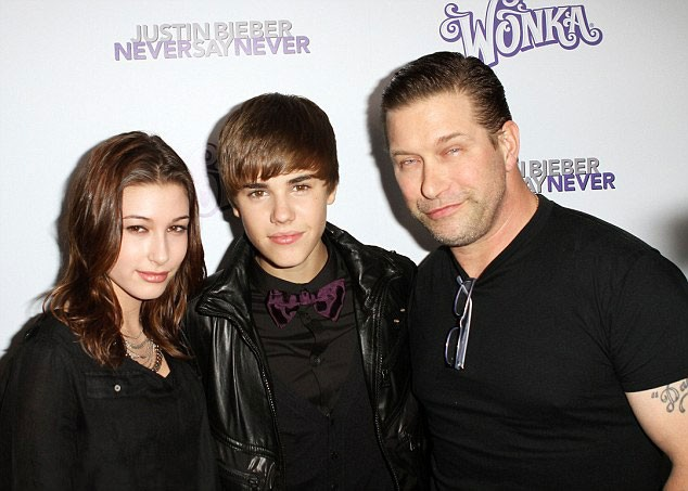 First meet of Justin and Hailey