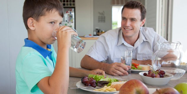 Avoid drinking cold water after meal