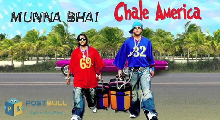 Munna bhai chla america