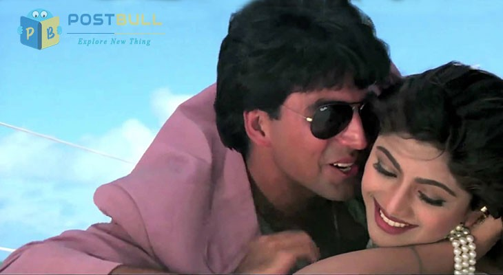 Akshay and Shilpa