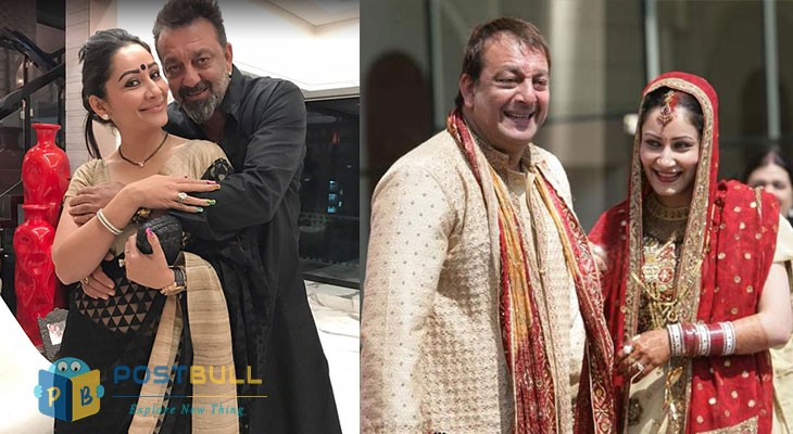 Sanjay Dutt and Manyata Dutt