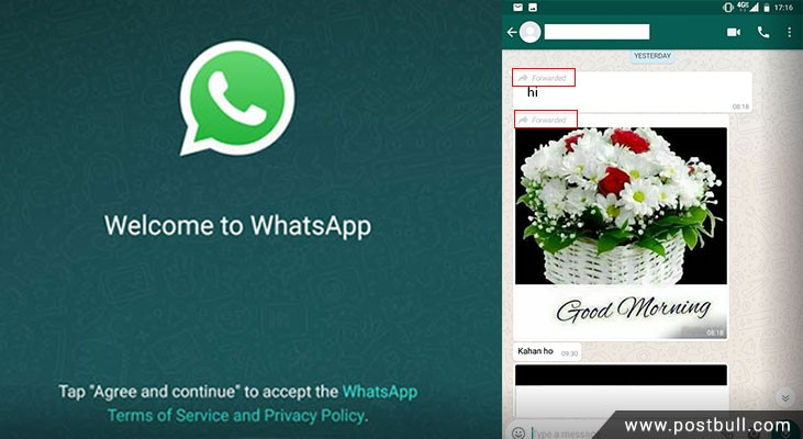 New features on whatsapp