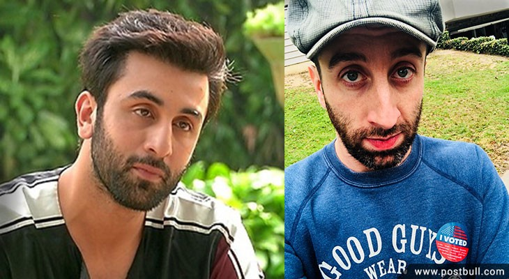 Ranbir Kapoor and Simon Helberg
