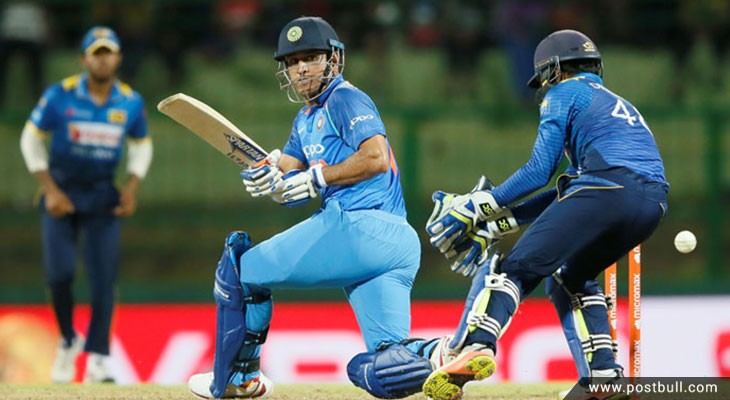 Dhoni not out